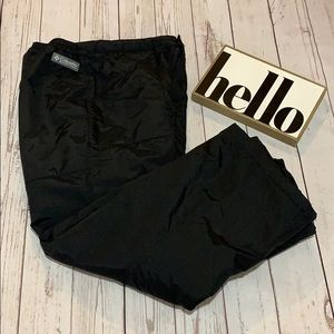 Columbia black snow pants size 14/16